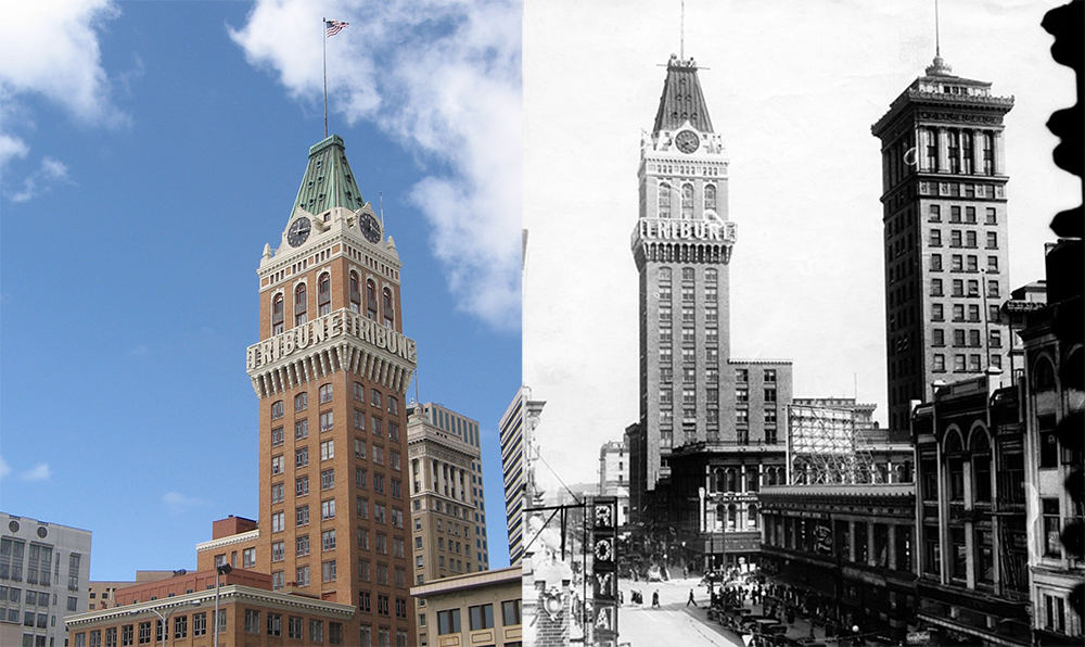 Historic Oakland Tribune Bldg